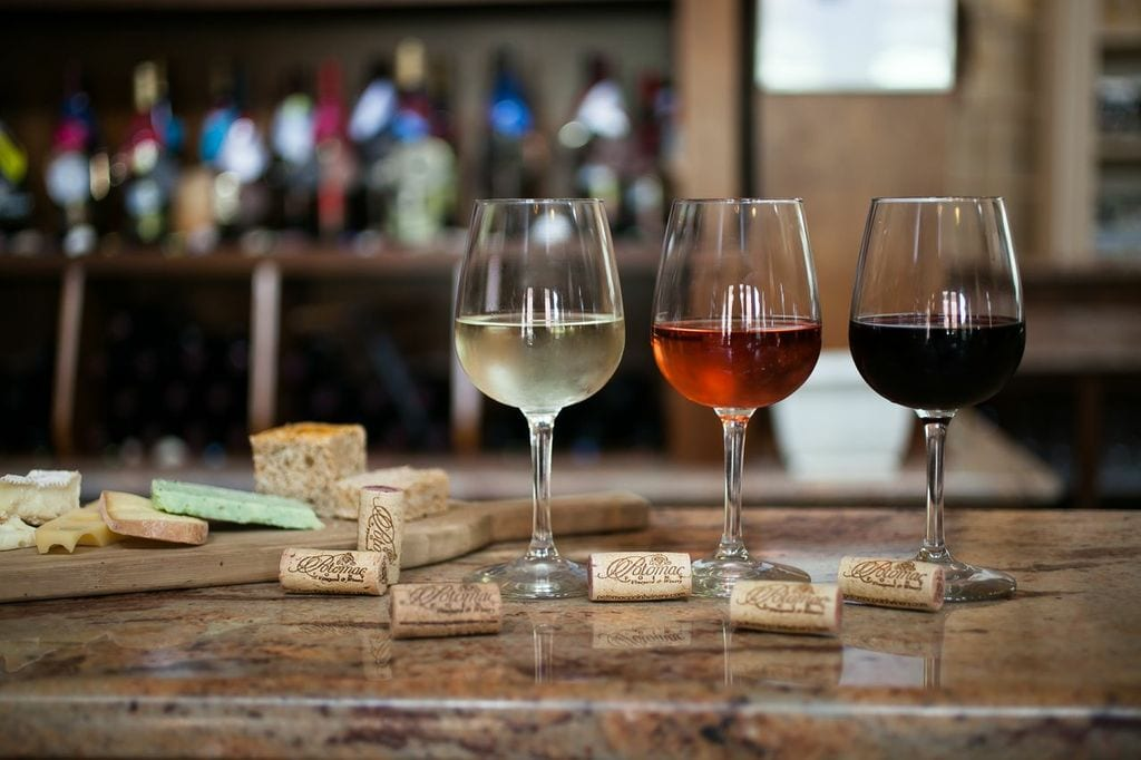 Wine and Corks at Tasting Room